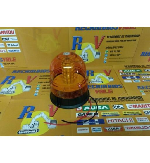 ROTATIVO LED 12-24 VOLTIOS - IMÁN