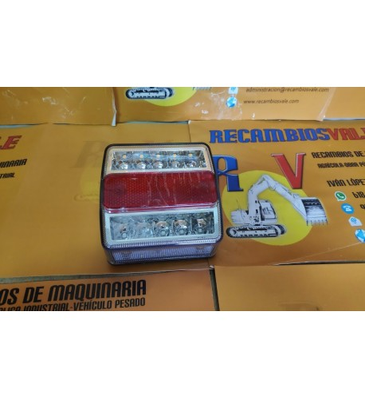 PILOTO REMOLQUE LED - 4 FUNCIONES - PACK 2 UDS
