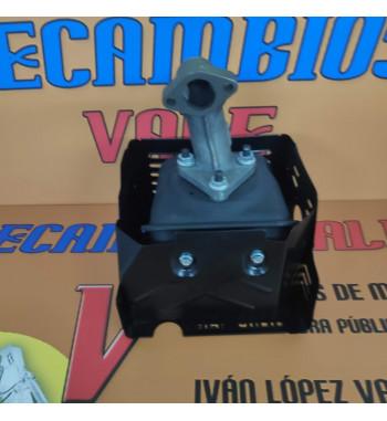 CONJUNTO ESCAPE HONDA GX390 CON DEFLECTOR