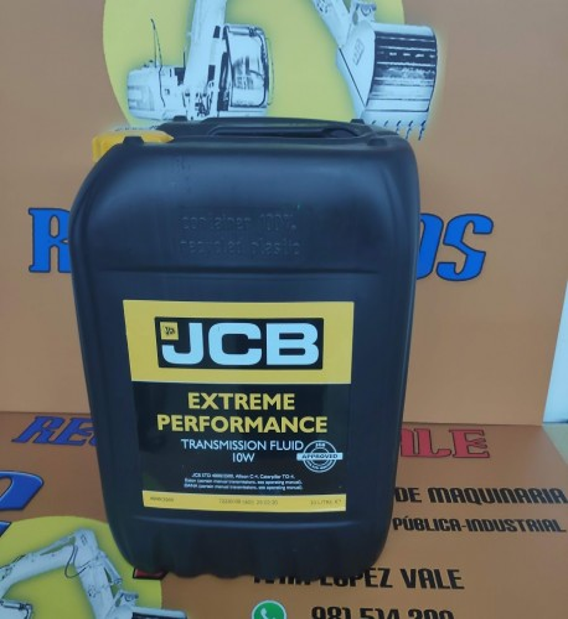 ACEITE CONVERTIDOR 10W JCB - 20 LITROS