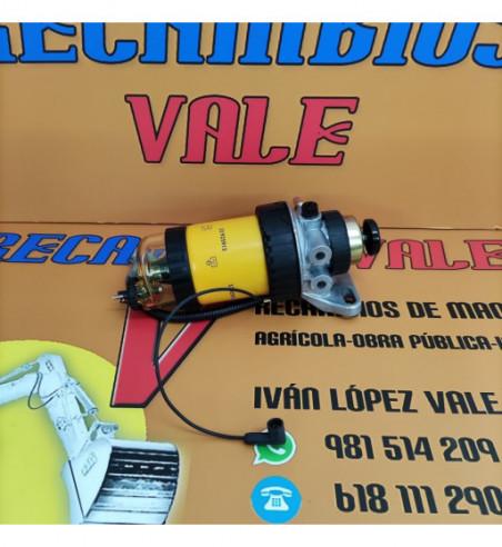 FILTRO DE GASOIL - SEDIMENTO COMPLETO JCB