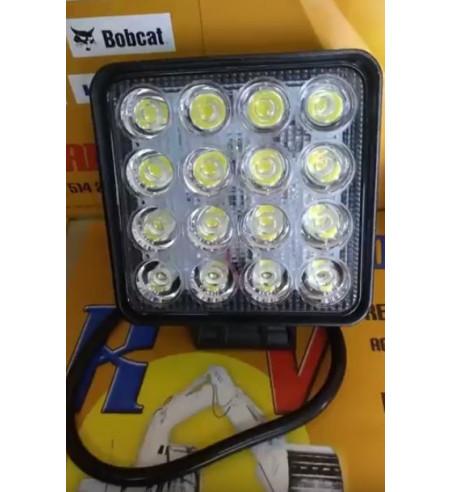 FARO TRABAJO CUADRADO CON 16 LEDS (48W) 10-30V